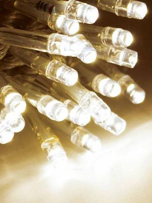Slika BOŽIĆNA LAMPICA 200L LED PROZ.ŽICA