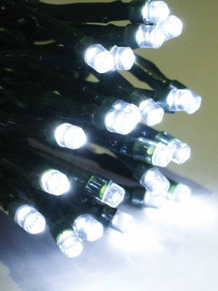Slika BOŽIĆNA LAMPICA 100L LED ZELENA ŽICA